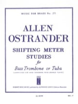 Allen Ostrander - Shifting Meter Studies - Partition - di-arezzo.fr