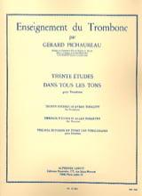Gérard Pichaureau - 30 Etudes dans Tous les Tons - Partition - di-arezzo.fr