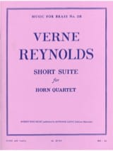 Verne Reynolds - Short Suite - Sheet Music - di-arezzo.co.uk