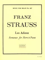 Franz Strauss - Goodbyes - Sheet Music - di-arezzo.co.uk