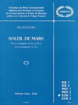 Dia Succari - Soleil de Mars - Partition - di-arezzo.fr