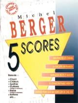 5 Scores Michel Berger Partition laflutedepan.com