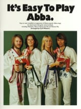 It's easy to play Abba ABBA Partition laflutedepan.com