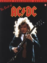 AC-DC - AC/DC Best Of Guitar Tab - Partition - di-arezzo.fr