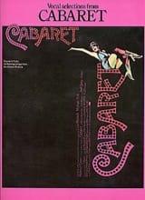 John Kander - Cabaret - Partition - di-arezzo.fr