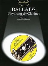 Guest Spot - Ballads Playalong For Clarinette - laflutedepan.com