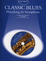 Guest Spot - Classic Blues Playalong For Saxophone Alto laflutedepan.com