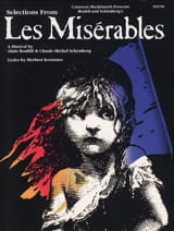 Les Miserables Claude-Michel Schönberg Partition laflutedepan.com