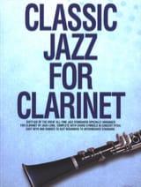 Classic Jazz For Clarinet Partition Clarinette - laflutedepan.com