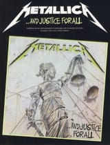 Metallica - And Justice For All - Partition - di-arezzo.fr