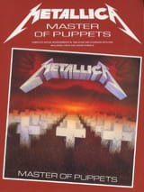 Masters Of Puppets Metallica Partition laflutedepan.com