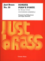 Sonata Pian'e Forte - Just Brass N° 30 GABRIELI Partition laflutedepan