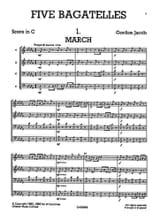 Five 5 Bagatelles - Junior Just Brass N° 14 laflutedepan.com