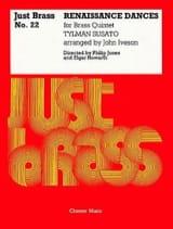 Renaissance Dances - Just Brass N° 22 Tielman Susato laflutedepan.com