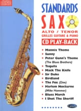 Standards Saxo Partition Saxophone - laflutedepan.com