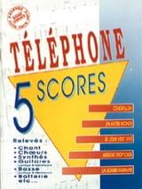 Téléphone - 5 Volume 1 Scores - Sheet Music - di-arezzo.co.uk