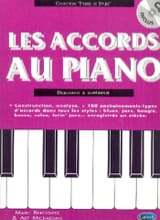 Les Accords Au Piano Marc Bercovitz Partition Piano - laflutedepan.com