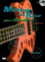 Méthode de Basse Pour Débutant Eric Boell Partition laflutedepan.com