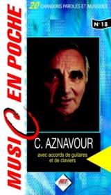 Music en poche N° 18 Charles Aznavour Partition laflutedepan