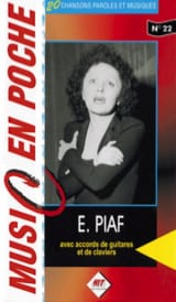 Edith Piaf - Music in your pocket N ° 22 - Sheet Music - di-arezzo.co.uk