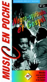 - Music en poche N° 31 - Negro-spirituals et gospel - Partition - di-arezzo.fr