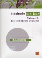 Méthode sax jazz volume 2 Michel Goldberg Partition laflutedepan.com