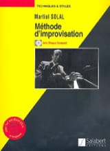 Martial Solal - Improvisation Method - Sheet Music - di-arezzo.co.uk