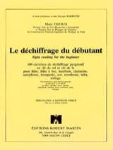 Marc Dijoux - Novice Decryption - Sheet Music - di-arezzo.com