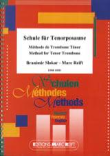 Slokar B. / Reift M. - Méthode de Trombone Ténor - Partition - di-arezzo.fr