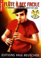 Flûte A Bec Facile Volume 1 Jean Didier Villetorte laflutedepan.com