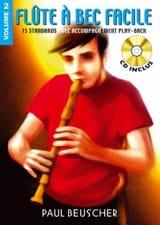 Flute A Bec Facile Volume 2 Partition Flûte à bec - laflutedepan.com