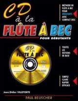 CD A la Flute A Bec Jean-Didier Villetorte Partition laflutedepan.com
