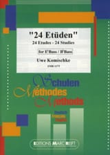 Uwe Komischke - 24 Studies - Sheet Music - di-arezzo.co.uk