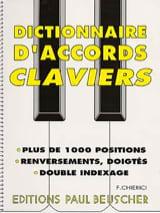 Dictionnaire D' Accords Claviers Partition Piano - laflutedepan