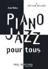 Piano Jazz Pour Tous Jean Robur Partition Jazz - laflutedepan.com