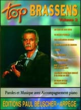 Georges Brassens - Top Brassens Volume 2 - Partition - di-arezzo.fr
