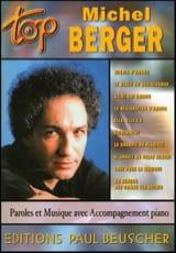 Michel Berger - Top Michel Berger - Sheet Music - di-arezzo.co.uk