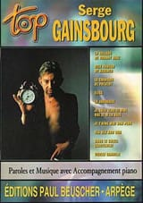 Serge Gainsbourg - Top Serge Gainsbourg - Sheet Music - di-arezzo.co.uk