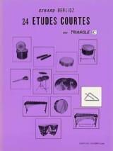 24 Etudes Courtes Volume C Gérard Berlioz Partition laflutedepan.com