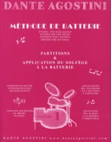 Dante Agostini - Battery Method Volume 1 - Sheet Music - di-arezzo.co.uk