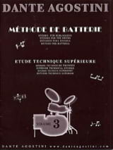 Dante Agostini - Battery Method Volume 3 - Sheet Music - di-arezzo.com