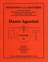 Dante Agostini - Battery Method Volume 4 - Sheet Music - di-arezzo.co.uk
