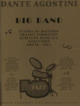 Big band jazz Dante Agostini Partition Batterie - laflutedepan.com
