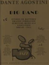 Big band (jazz) Dante Agostini Partition Batterie - laflutedepan.com