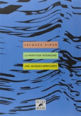La Partition Intérieure Jacques Siron Livre laflutedepan.com