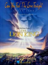 Elton John - Can You Feel The Love Tonight Movie Lion King - Sheet Music - di-arezzo.co.uk