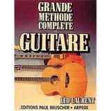 Léo Laurent - Grande Méthode Complète de Guitare - Partition - di-arezzo.fr