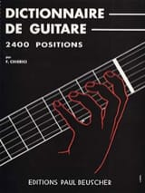 Dictionnaire de Guitare - 2400 Positions F. Chierici laflutedepan.com