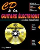 CD A la Guitare Eléctrique Tony March Partition laflutedepan.com
