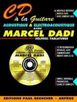Marcel Dadi - CD with Acoustic and Electroacoustic Guitar - Sheet Music - di-arezzo.com